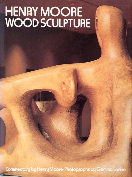Henry Moore Wood Sculpture